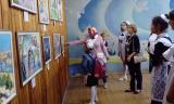 Выставка «Живопись Серебряного века» в Чувашско-Тимяшском сельском доме культуры Ибресинского района