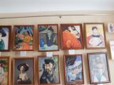 Выставка «Шедевры живописи XIX-XX вв. из собрания Эрмитажа» открылась в Новоурюмовском сельском Доме культуры Канашского района.