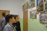Презентация выставки «Искусство счастья» в Шаймурзинском сельском клубе Батыревского района