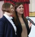 Алена Аршинова открыла выставку «Гимн труду» в МБОУ «Моргаушская СОШ»