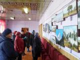 В Староурмарском сельском Доме культуры открылась фотовыставка «Красоты мира»