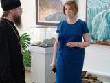 Отец Игнатий, епископ Мариинско-Посадский, викарий Чебоксарской епархии посетил культурно-выставочный центр «Радуга»