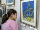 Юные художники в гостях у Мастера