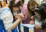 Cтоличные школьники отмечают Пушкинский день в КВЦ «Радуга»
