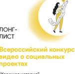 Видеоролик «Моя семья в истории Великой Победы» вошел в полуфинал Всероссийского конкурса видео о социальных проектах«Хорошая история».