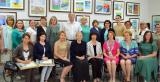 Творческая выставка медицинских сотрудников — участников проекта «Арт-аптечка бойцов COVID-ного фронта» открылась в Культурно-выставочном центре «Радуга»