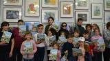 Дети Донбасса передали свои рисунки в КВЦ «Радуга» для выставки к 550-летию столицы Чувашии