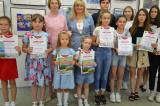 В культурно-выставочном центре «Радуга» открылась юбилейная выставка детского творчества «Чебоксары — жемчужина Поволжья»