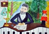 Итоги республиканского этапа Всероссийского конкурса детского художественного творчества «Зримые образы музыки П.И. Чайковского»